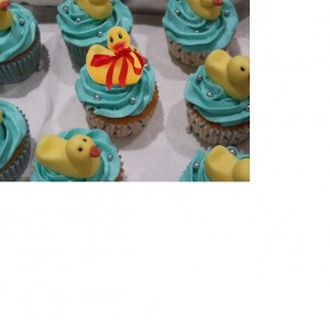 Duck-cupcakes